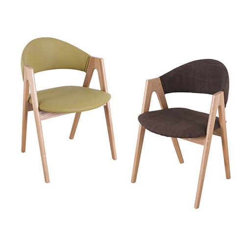 CH357 브이체어 / 예쁜의자 1인의자 카페인테리어가구 패브릭체어 ...